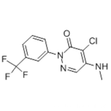 3(2H)-Pyridazinone,4-chloro-5-(methylamino)-2-[3-(trifluoromethyl)phenyl] CAS 27314-13-2